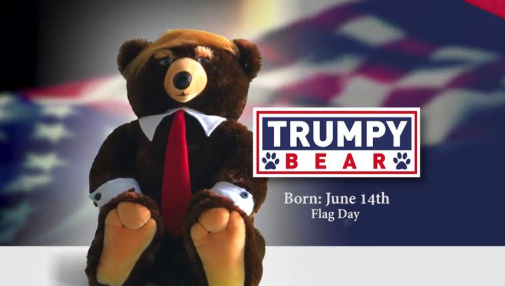 El oso de peluche inspirado en Donald Trump es un éxito comercial