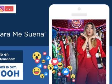 Mimi responderá a las preguntas de los fans de 'Tu cara me suena' mañana a través de Facebook Live