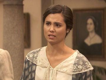 María expresa todo su dolor frente a un frío Gonzalo