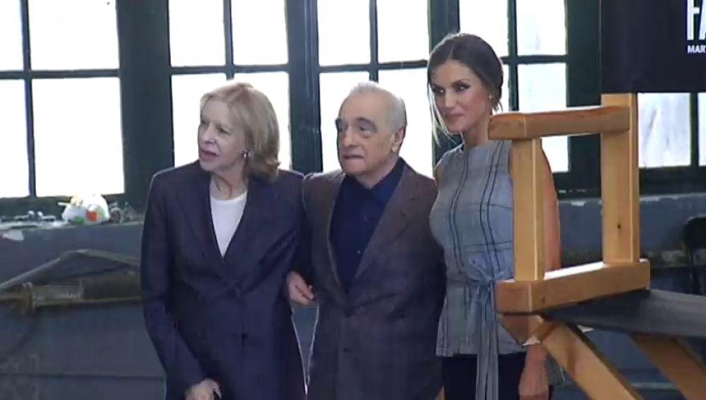 Martin Scorsese comparte sus experiencias en el cine con la Reina Letizia y jóvenes cineastas en Oviedo