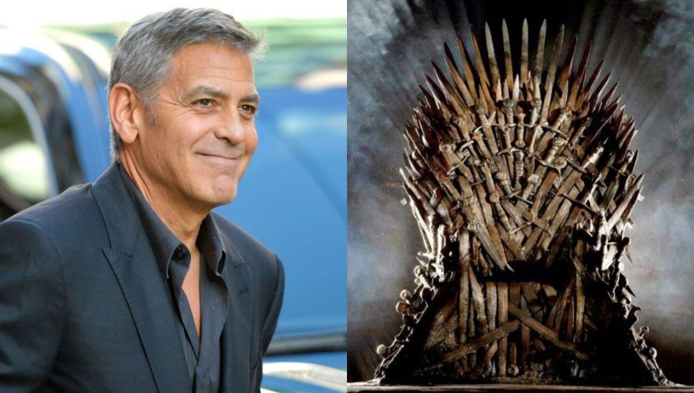 ¿George Clooney y 'Juego de Tronos'?