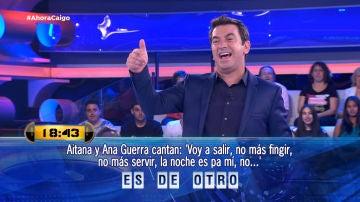 Arturo Valls se atreve con 'Lo malo', el exitazo de Aitana y Ana Guerra