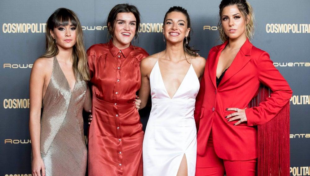 Aitana Ocaña, Amaia Romero, Ana Guerra y Miriam Rodríguez
