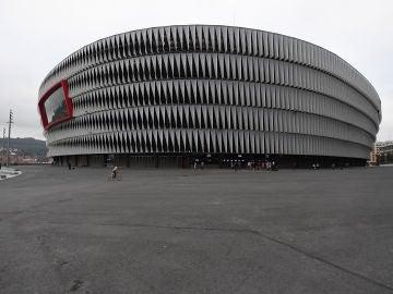 El estadio de San Mamés