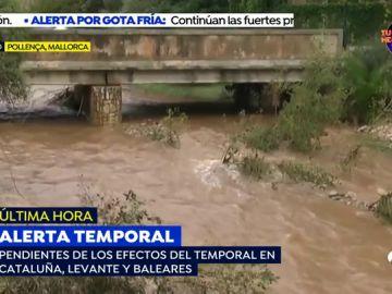 Las intensas lluvias dejan 87 incidentes en Baleares, la mayoría en Mallorca