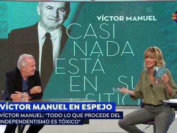 """Victor Manuel: """"El independentismo catalán es tóxico y ha destrozado a Cataluña como país"""""""
