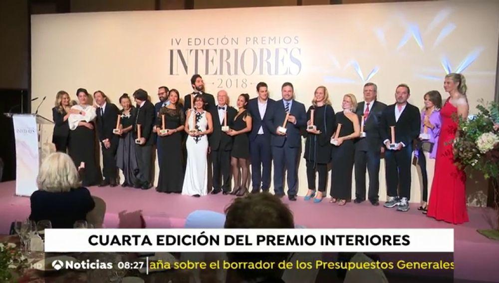 José Crehueras preside la entrega de la cuarta edición de los Premios revista 'Interiores'