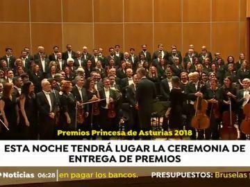 Así será la ceremonia de los Premios Princesa de Asturias, cuya entrega se celebra este viernes