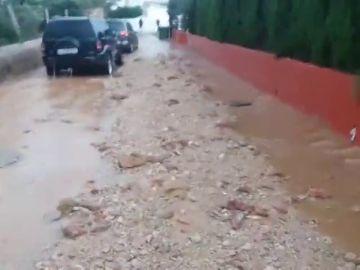 Las lluvias en Alcossebre causan estragos