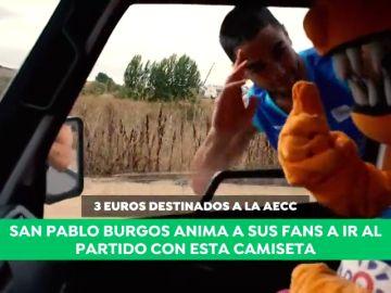 El San Pablo Burgos anima a participar en la lucha contra el cáncer de mama con este genial vídeo