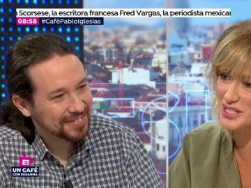 Pablo Iglesias en Espejo Público