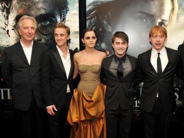 El equipo de 'Harry Potter' de premiere