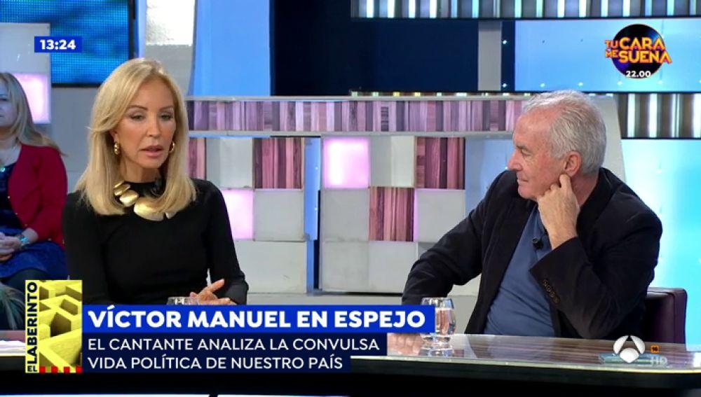 """Carmen Lomana: """"Por no beber alcohol me llaman aburrida pero si me ven fumar un porro se escandalizan"""""""