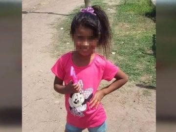 sheila, la pequeña asesinada en Argentina