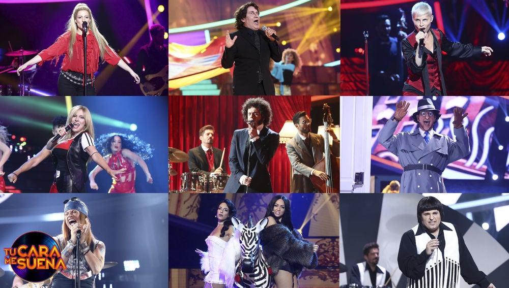 ¡Vota por la mejor actuación de la cuarta gala de 'Tu cara me suena'!