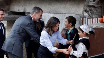 Los Reyes entregan a Moal el Premio de Pueblo Ejemplar 2018