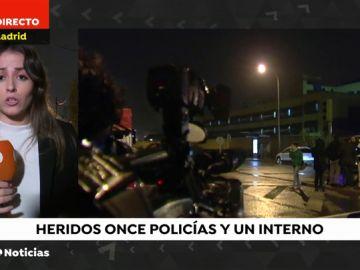 Once policías acaban heridos durante un intento de fuga en el CIE de Aluche