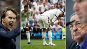 El Real Madrid, ante su peor momento de la temporada