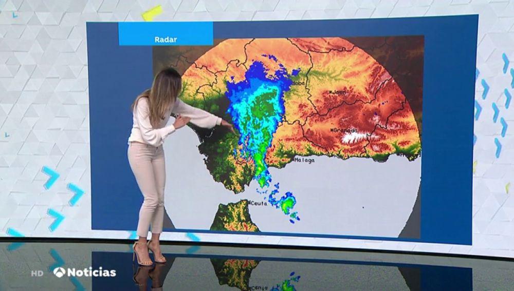 La Aemet amplía la máxima alerta por la gota fría en Málaga mientras las lluvias mantienen en aviso a 13 provincias