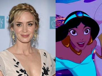 Emily Blunt y 'Aladdin'