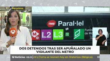 Parada de metro de Barcelona en la que ocurrieron los hechos