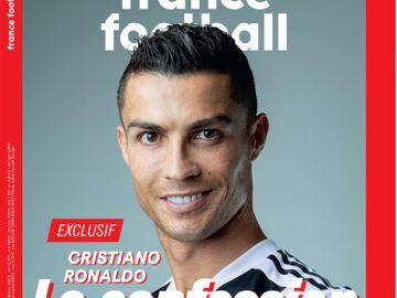 Cristiano Ronaldo, portada de 'France Football'