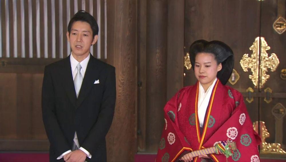La princesa Ayako pierde su título real para casarse con un plebeyo