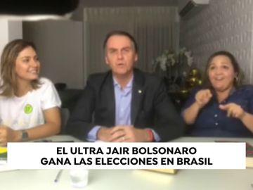 Jair Bolsonaro gana las elecciones en Brasil
