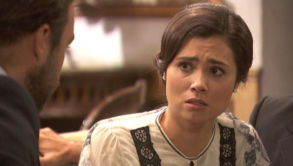 María, aterrorizada por no volver a ver a Gonzalo