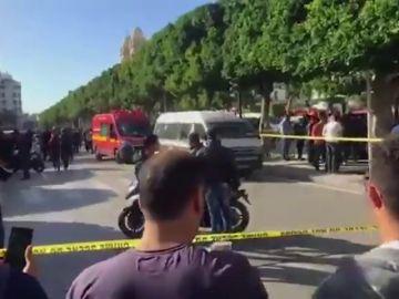 Nueve heridos en un ataque suicida registrado en el centro de Túnez