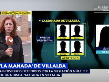 Brutal agresión sexual en Villalba.