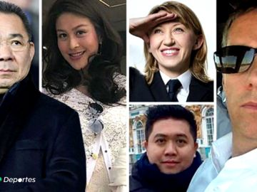 Los nombres detrás de la tragedia del helicóptero del presidente del Leicester: un piloto convertido en héroe, una miss Tailandia...