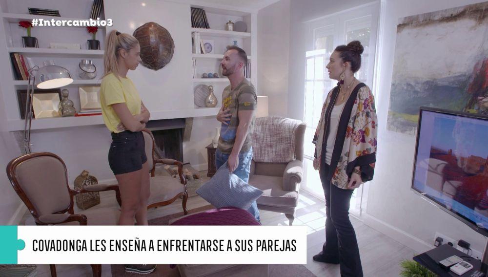 Juanra y Joana se enfrentan con mucha rabia y sinceridad a sus parejas