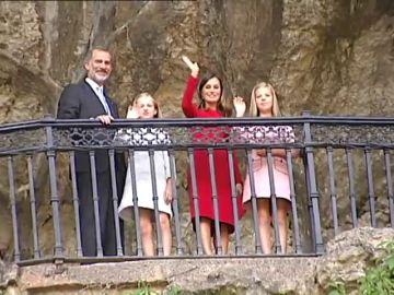 Primer viaje oficial como princesa de Asturias