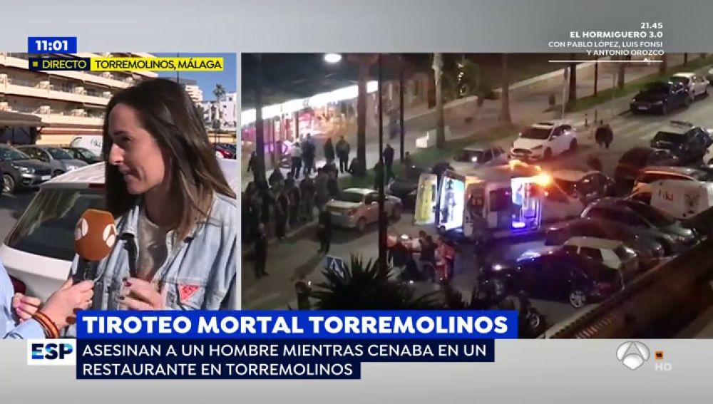 """Testigo del tiroteo mortal de Torremolinos: """"Últimamente había gente muy rara, incluso tuve que llamar a la Policía en alguna ocasión"""""""