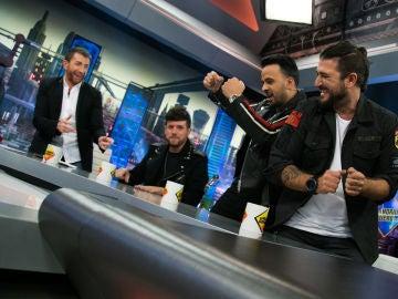 Pablo Motos, impresionado con la visita de Luis Fonsi, Antonio Orozco y Pablo López a 'El Hormiguero 3.0'
