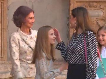 El peor momento de Leonor: las diferencias entre su madre y su abuela por una foto