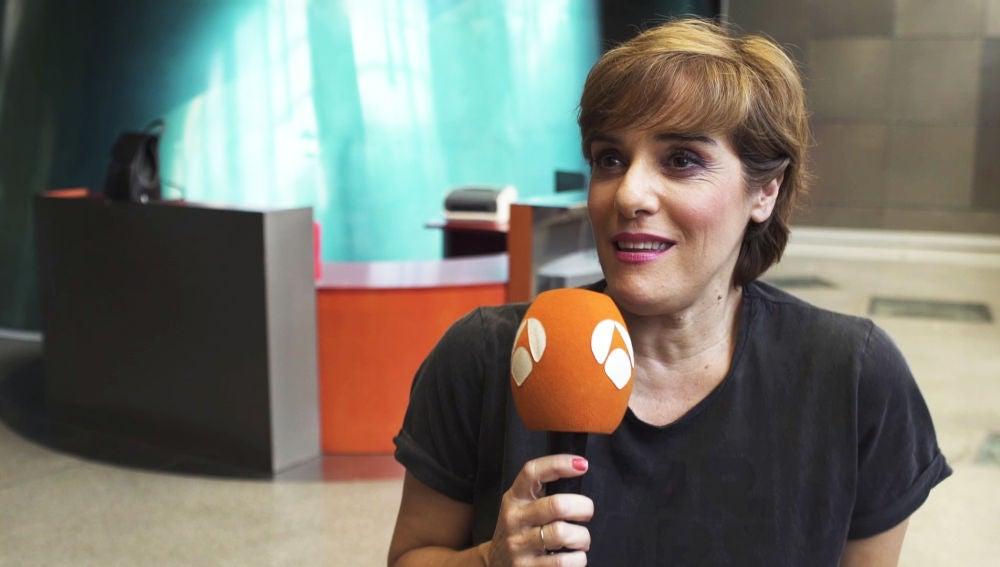 """Anabel Alonso: """"El reto va a ser poder cantar y hacer la coreografía a la vez"""""""
