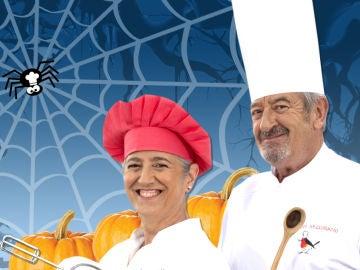 Eva y Karlos Arguiñano te enseñan a sacar el lado más dulce de la noche de Halloween.