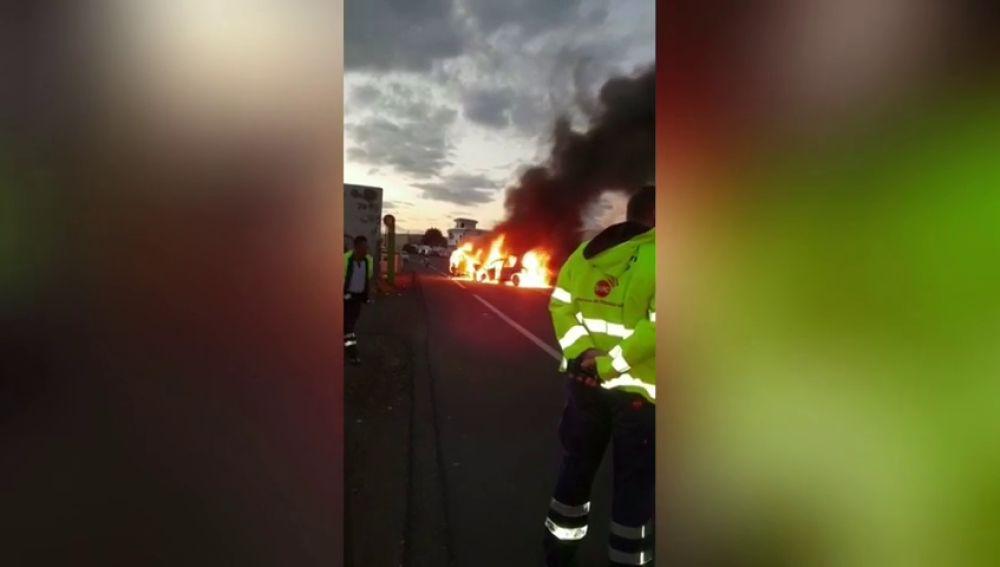 Cuatro heridos tras producirse una colisión múltiple en Tenerife
