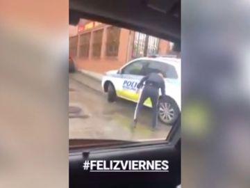 La Policía de Madrid pide colaboración ciudadana para dar con el hombre que pincha las ruedas de sus coches