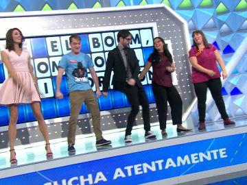 Juanra Bonet cumple el reto de Jorge Fernández y revoluciona 'La ruleta de la suerte', ¿cuantos puntos habrá conseguido?