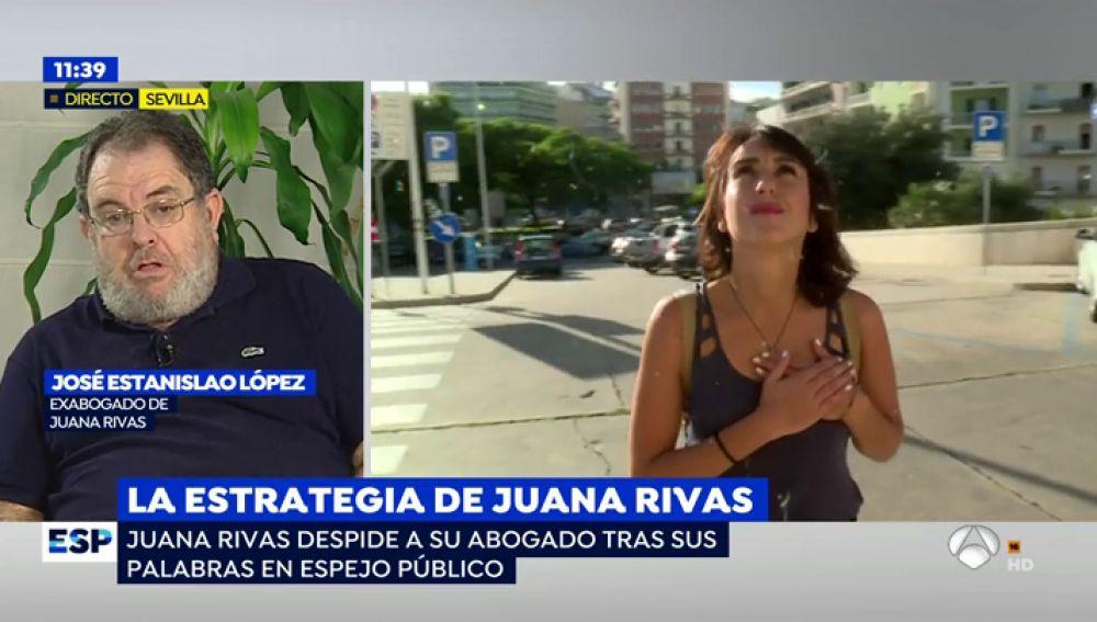 """Juana Rivas despide a su abogado tras sus declaraciones en 'Espejo Público': """"La confianza se rompió cuando le aconsejé entregar a los niños"""""""