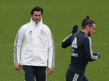 Solari dirige su primer entrenamiento al frente del Real Madrid