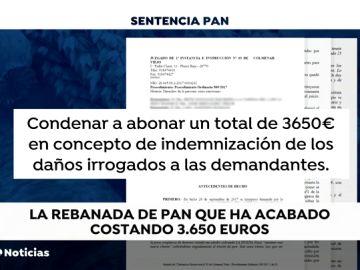 """Condenan a pagar 3.650 euros a una mujer que llamó """"muerta de hambre"""" a la dueña de un bar por cobrarle por una rebanada de pan para su bebé"""