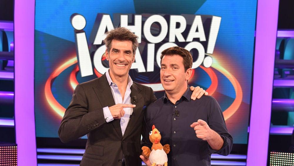 Arturo Valls y Jorge Fernández