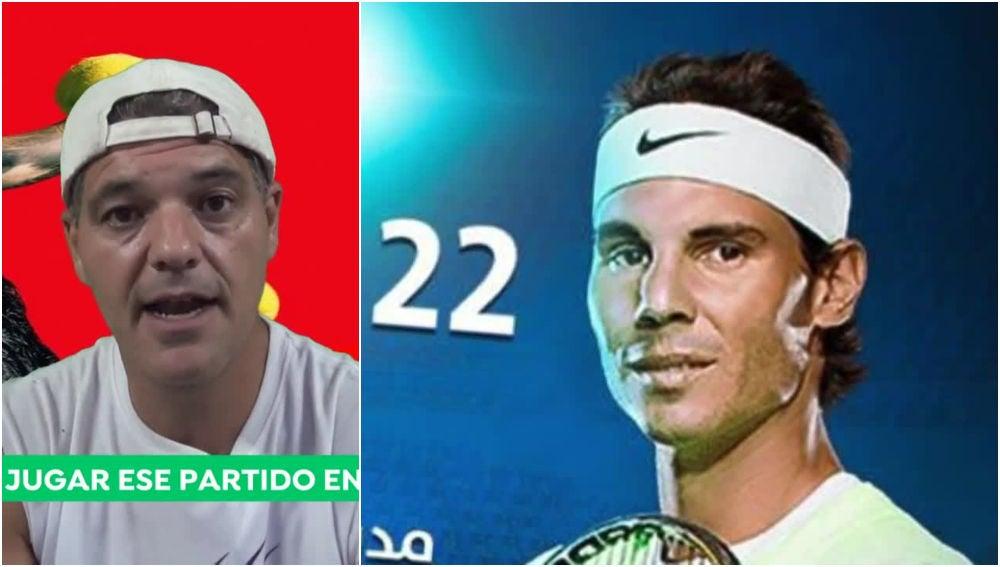 Frank Cuesta critica a Rafa Nadal