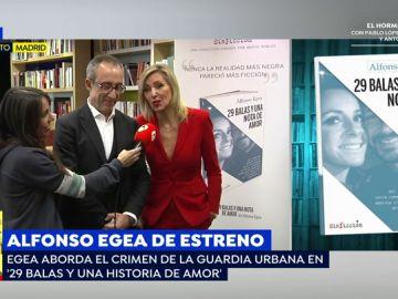 """Alfonso Egea presenta el libro: '29 balas y una nota de amor', en el que cuenta sucesos reales sin ficción: """"Lo hemos escrito con el máximo respeto a la víctima"""""""