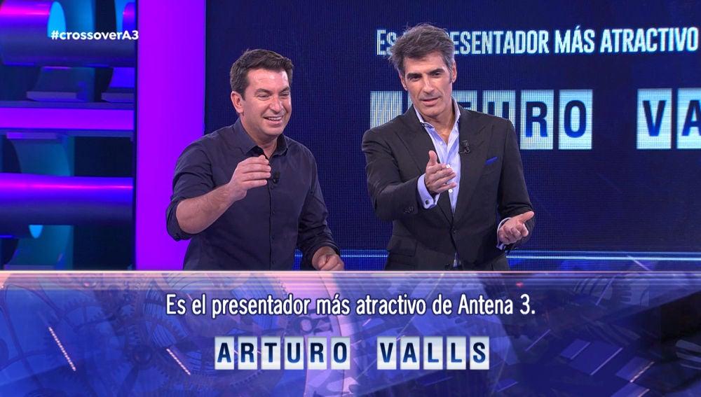 Arturo Valls pone a prueba a Jorge Fernández antes de dejar el programa en sus manos