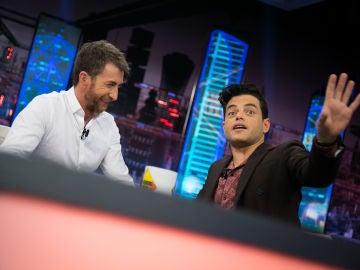 Rami Malek desvela en 'El Hormiguero 3.0' cuál es el lío más gordo en el que se ha metido por intercambiarse con su hermano gemelo_video